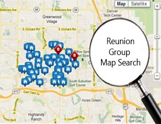 ReunionGroup Map Search